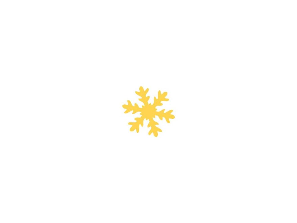 Craft Punch Snowflake 059 - DpCraft - 3,7 cm