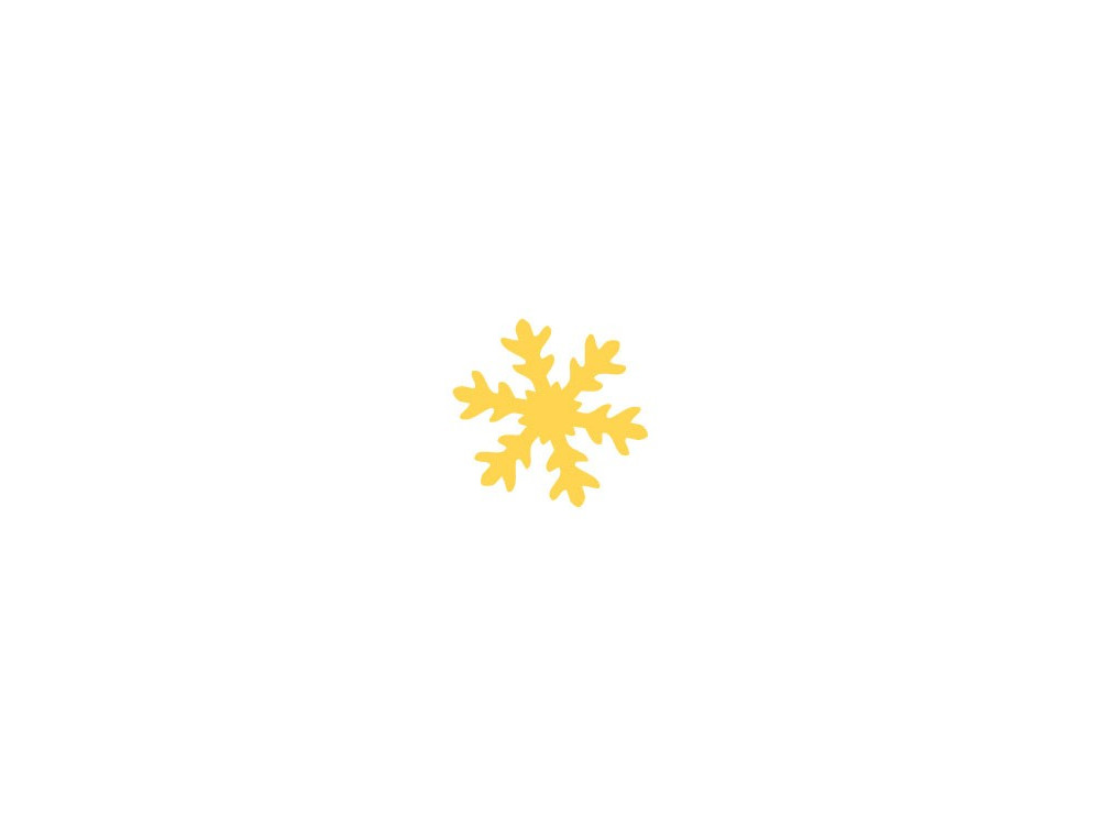 Dziurkacz ozdobny Śnieżynka - DpCraft - 3,7 cm
