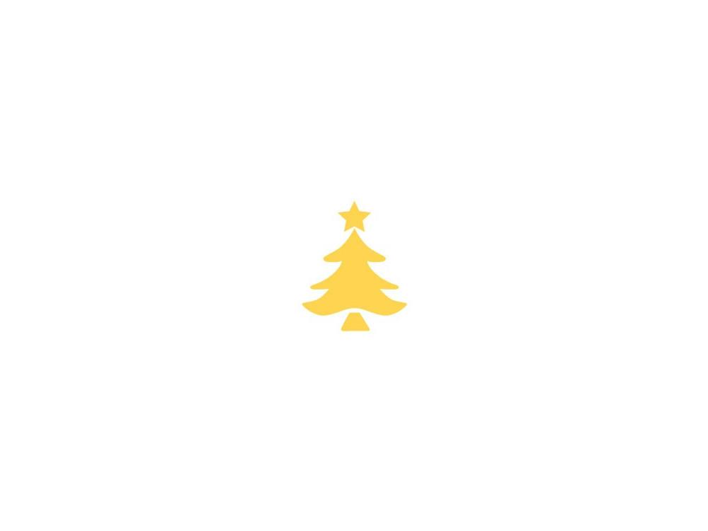 Craft Punch Christmas Tree 137 - DpCraft - 3,7 cm
