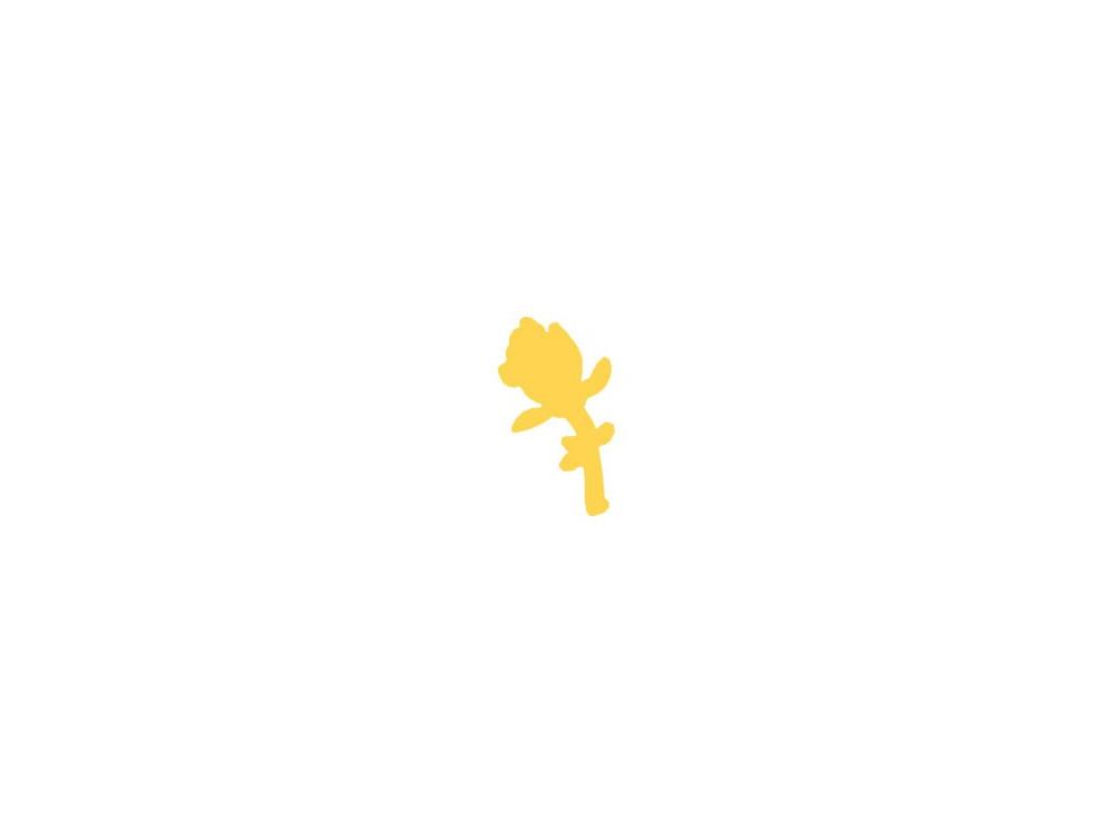 Dziurkacz ozdobny Róża - DpCraft - 3,7 cm