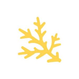 Dziurkacz ozdobny 3,7 cm 308 - Gałązka sosny