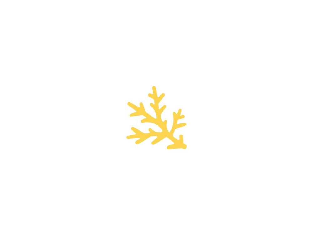 Craft Punch Pine Twig 308 - DpCraft - 3,7 cm