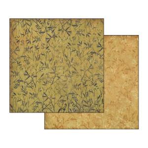 Papier Stamperia - Roślinne motywy beżowe