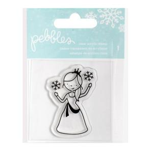 Stempel Pebbles - Winter Wonderland - Princess