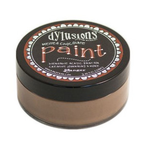 Farba Ranger Dylusions Paint - Melted Chocolate 59 ml