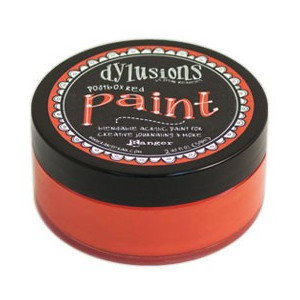 Farba Ranger Dylusions Paint - Postbox Red 59 ml