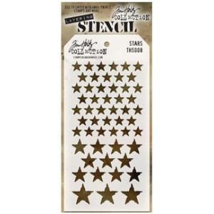 Szablon Ranger Tim Holtz Stencil - Stars