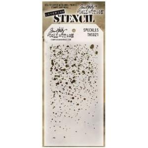 Szablon Ranger Tim Holtz Stencil - Speckles