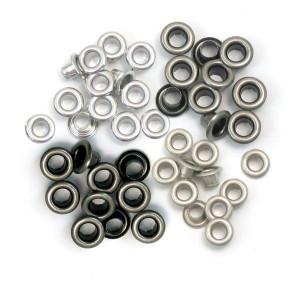 Nity Oczka We R - Eyelets - standard - Warm Metal