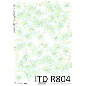 Papier ryżowy decoupage A4 R751