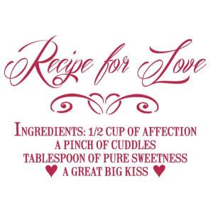 Szablon A4 STAMPERIA KSG341 recepta miłości