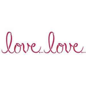 Szablon STAMPERIA KSB165 Love Love