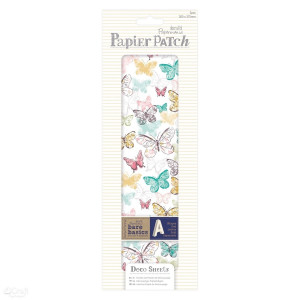 Zestaw papierów do decoupage - papier patch - butterflies, 3 szt.