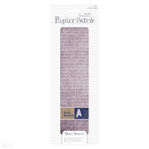 Zestaw papierów do decoupage - papier patch - aged text, 3 szt.