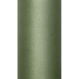 Tiul dekoracyjny 8 cm x 20 m zielony 012