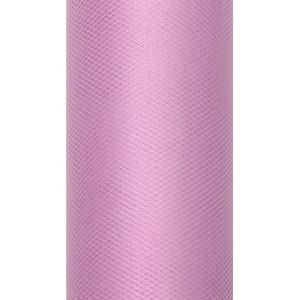 Tiul dekoracyjny 8 cm x 20 m pudrowy róż 081P