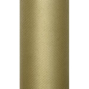 Tiul dekoracyjny 8 cm x 20 m karmel 085