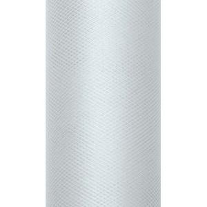 Tiul dekoracyjny 8 cm x 20 m szary 091