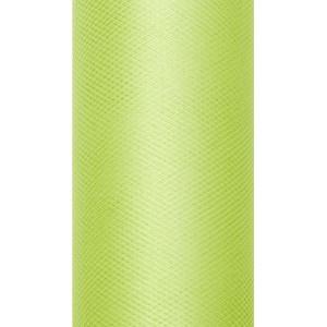 Tiul dekoracyjny 8 cm x 20 m j. zieleń 102