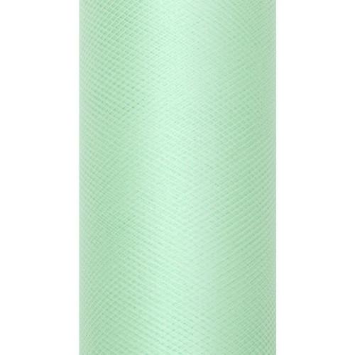 Tiul dekoracyjny 8 cm x 20 m 103 mięta