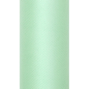 Tiul dekoracyjny 8 cm x 20 m mięta 103