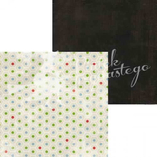 Papier Kolory - Czarny, 30x30 cm