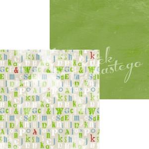 Papier Kolory - Zielony, 30,5 x 30,5 cm