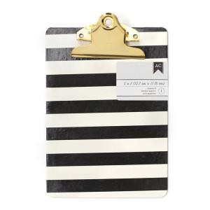 Podkładka do pisania - 12,70 x 17,78 cm - White Stripes We R