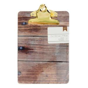 Podkładka do pisania - 12,70 x 17,78 cm - Woodgrain We R