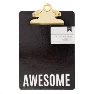 Podkładka do pisania - 12,70 x 17,78 cm - Awesome We R