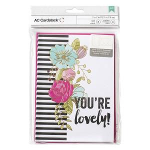 Zestaw kart i kopert - VALENTINE - You're Lovely - 8 szt. AC