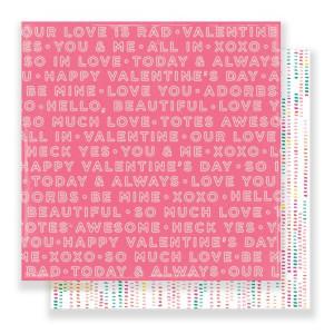 Papier dwustronny Hello Love - Two Hearts - We R