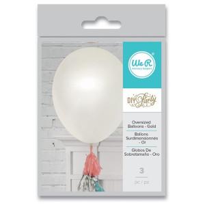 Balony białe duże 91,44 cm - 3 szt. We R