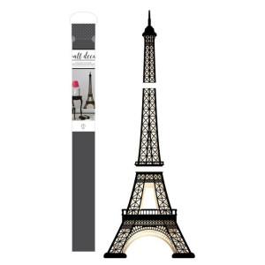 Naklejka na ścianę - Wall Decal - Eiffel Tower - 1szt. AC