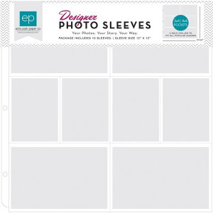 Koszulki obwoluty do albumu 30x30 cm 8 kieszonek Photo Sleeve - Echo Park