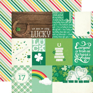 Papier Echo Park - Lucky Charm - Journaling Cards