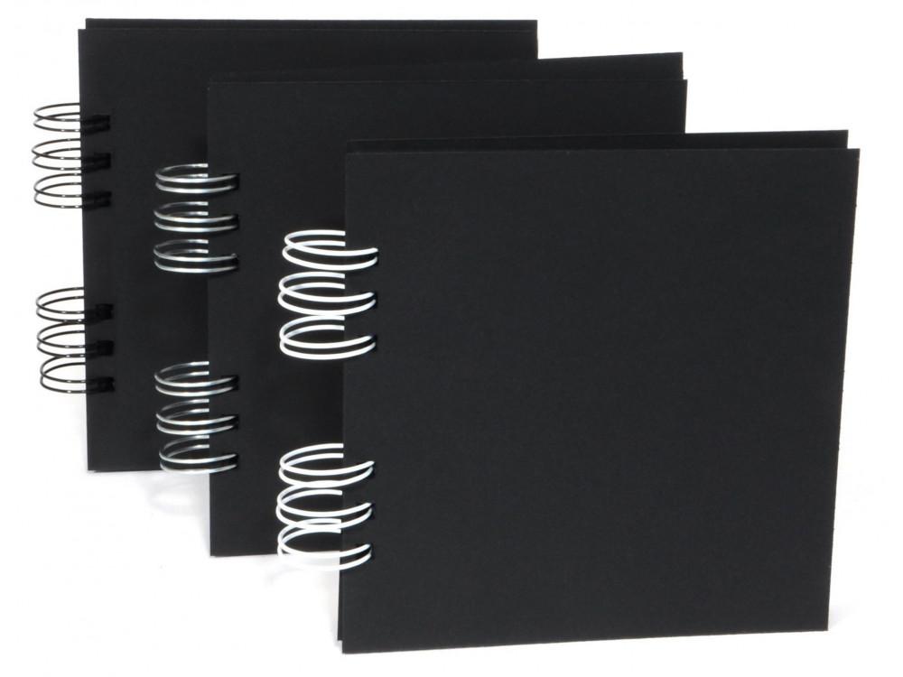 Plain Album 15x15 black 22 sheets