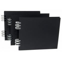 Baza do albumu 16 x 20 cm - Simply Crafting - biały grzbiet, 22 karty
