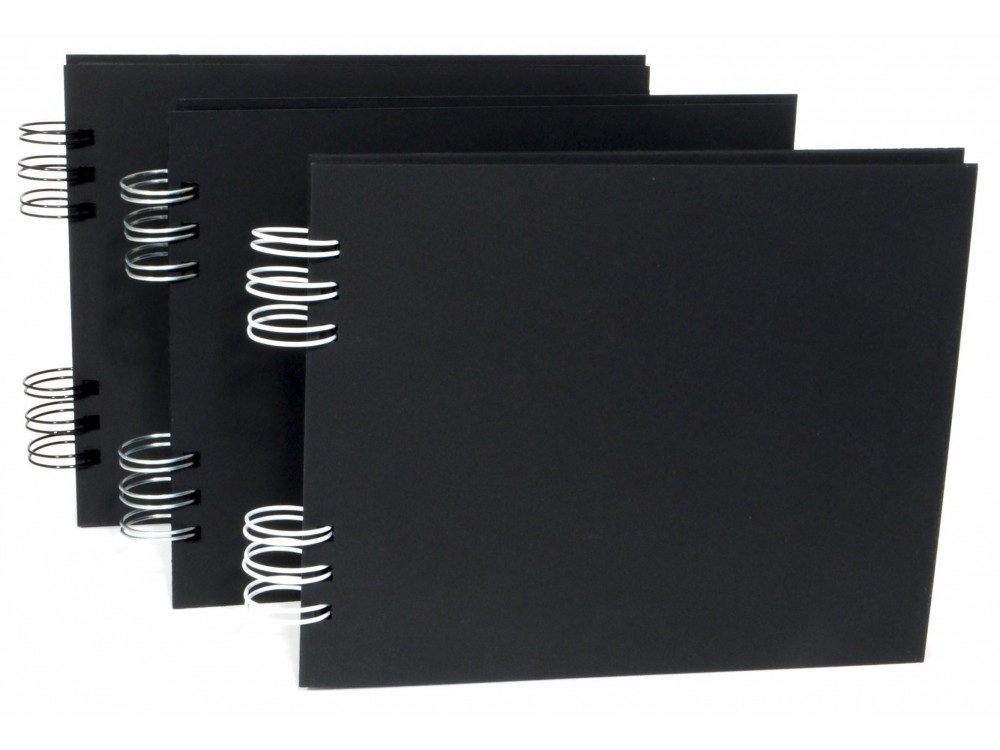 Plain Album 16x20 black 22 sheets