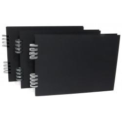 Plain Album A4 black 22 sheets