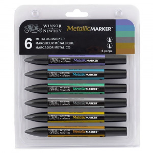 MetallicMarker set 6 W&N