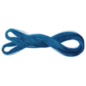 Sznurek błyszczący cienki 10 m niebieski