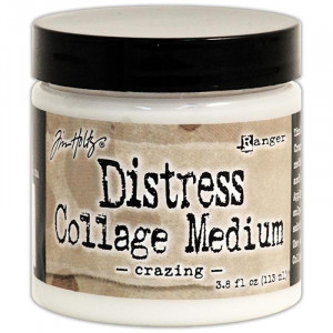 Medium distress - Crazing
