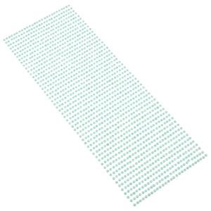 Perły samoprzylepne 3 mm, 1404 szt. morskie
