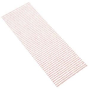 Perły samoprzylepne 3 mm, 1404 szt. różowe