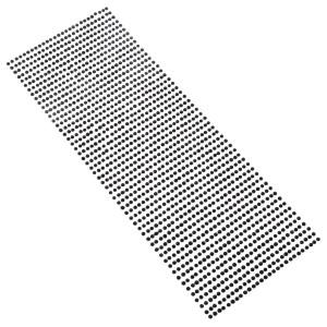 Perły samoprzylepne 3 mm, 1404 szt. czarne