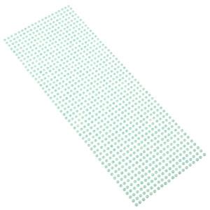 Perły samoprzylepne 4 mm, 1000 szt. morskie