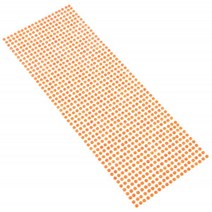 Perły samoprzylepne 4 mm, 1000 szt. pomarańczowe