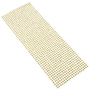 Perły samoprzylepne 4 mm, 1000 szt. beżowe