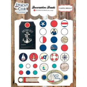 Ćwieki dekoracyjne Carta Bella - Yacht Club